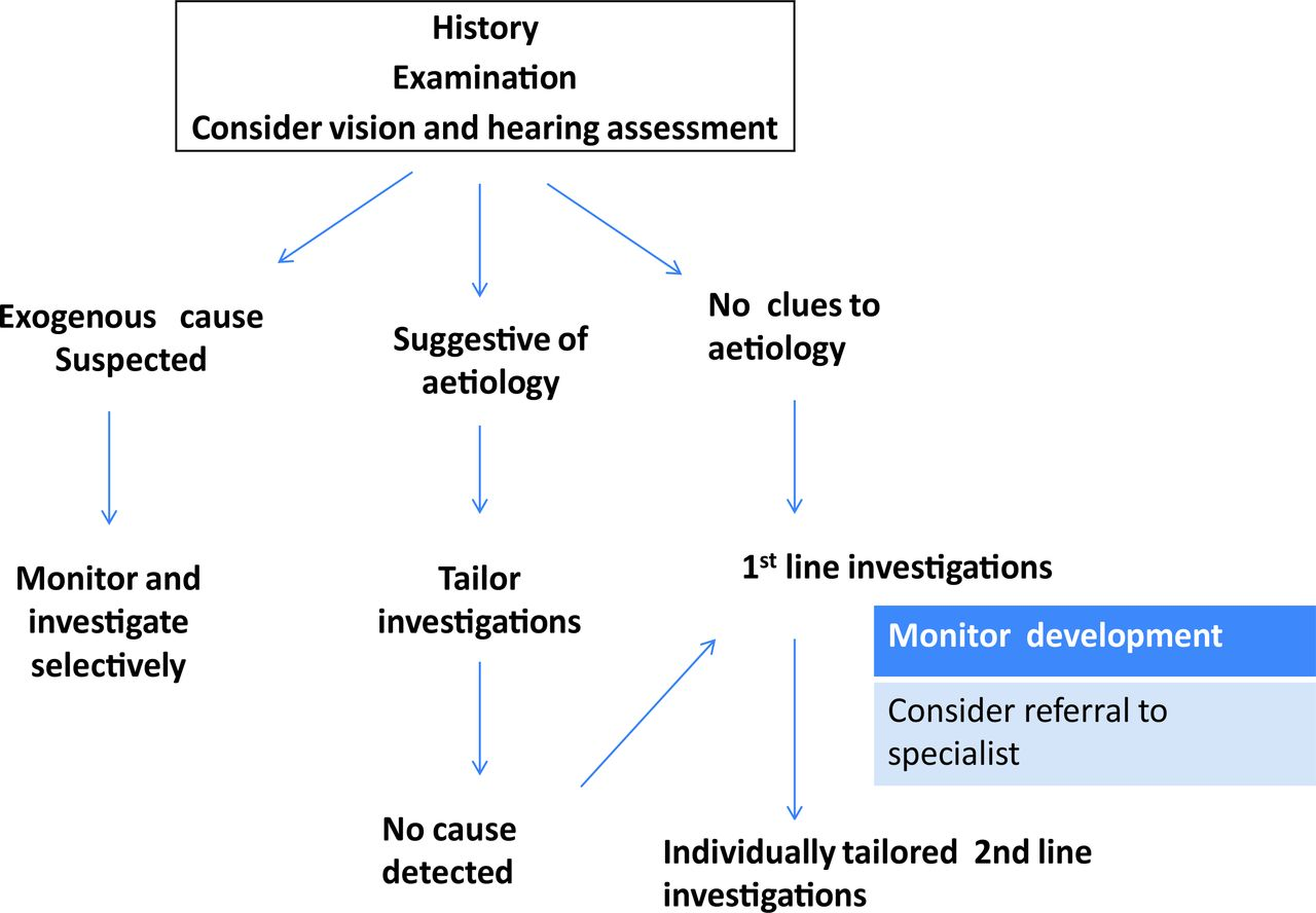 Current evidence-based recommendations on investigating