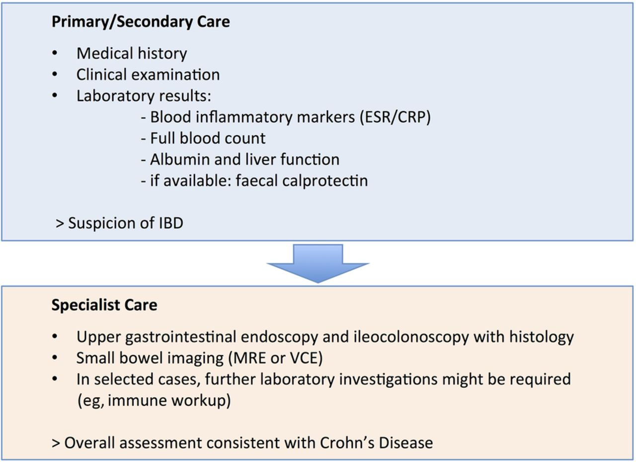 Management Of Crohn S Disease Archives Of Disease In