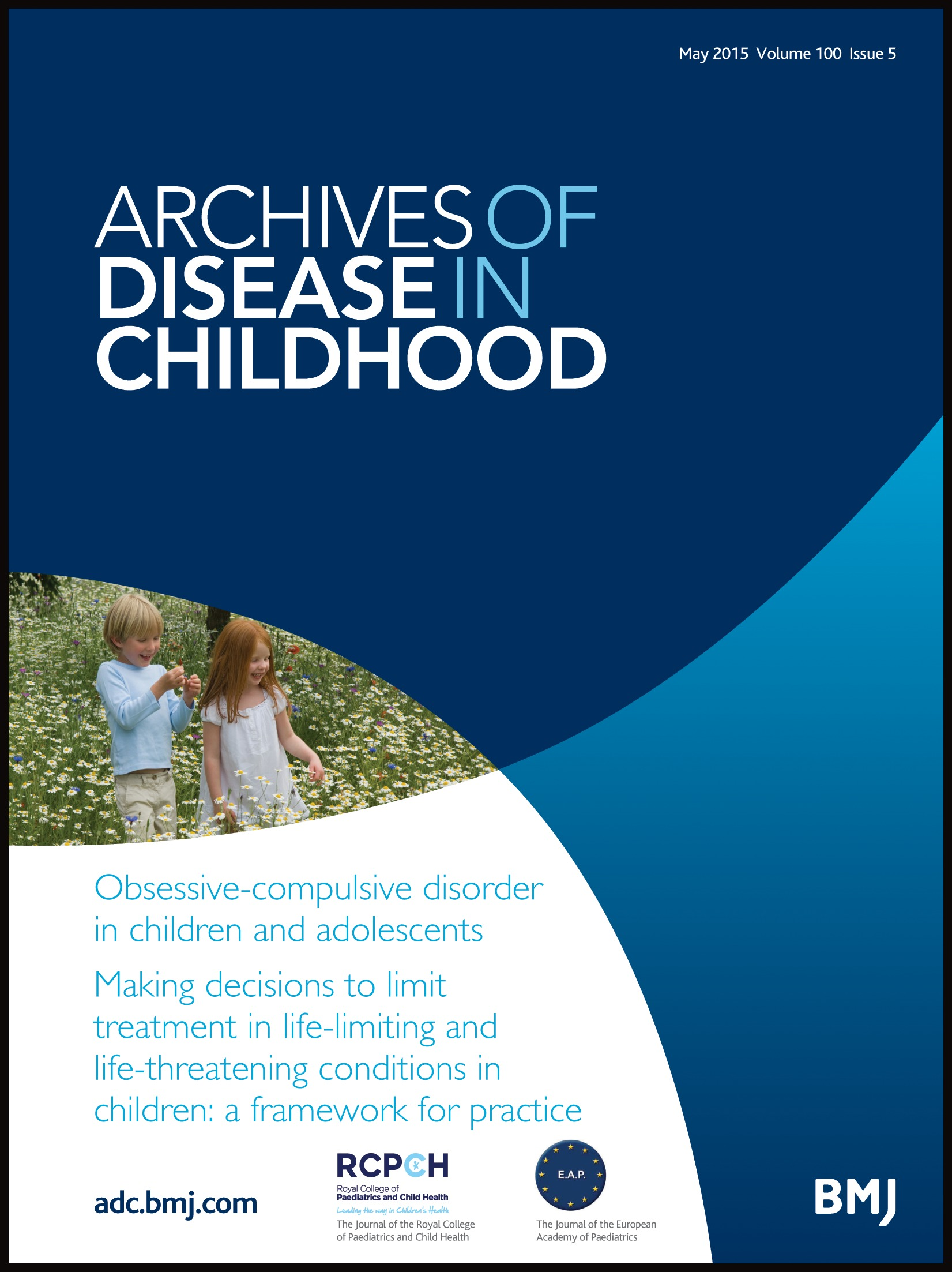 Obsessive-compulsive disorder in children and adolescents | Archives