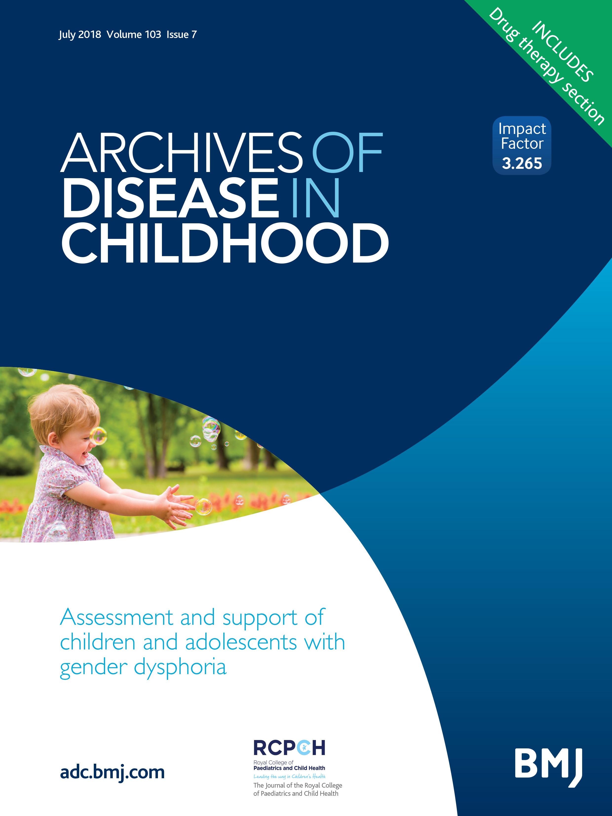 Assessment and support of children and adolescents with gender ...