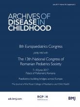 Archives of Disease in Childhood: 102 (Suppl 2)